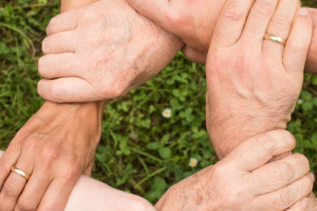 family hands special needs